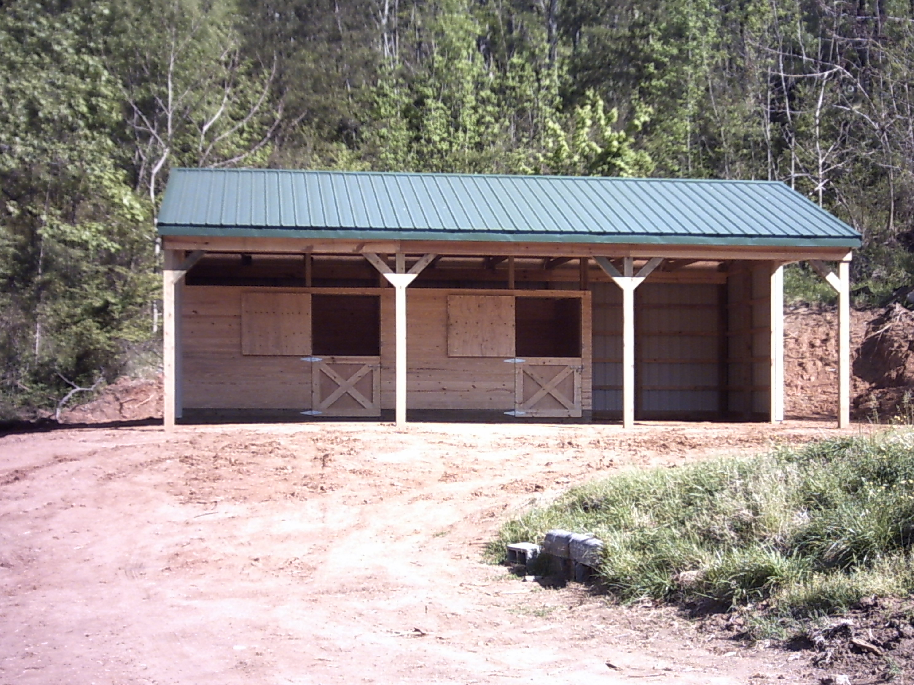 Belderes barn for Building a horse stable