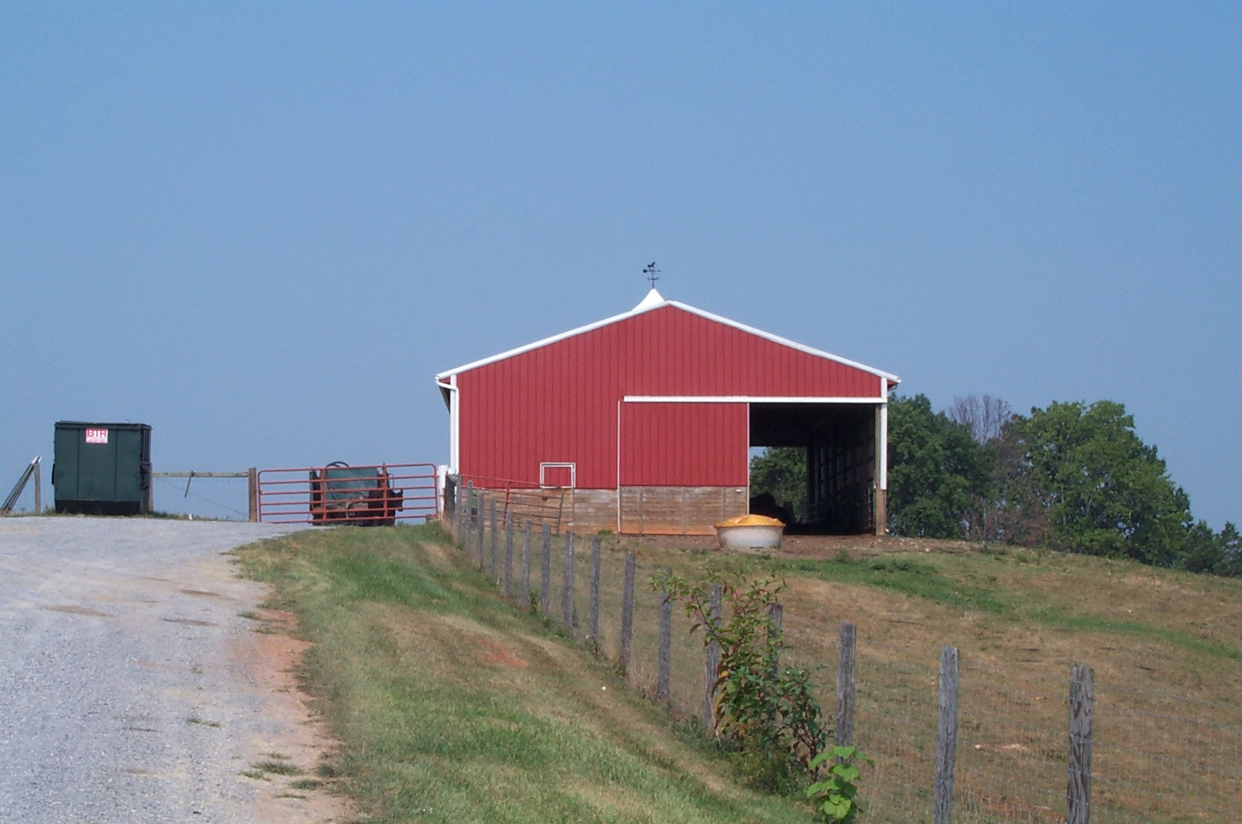 The Patterson Pole Barn